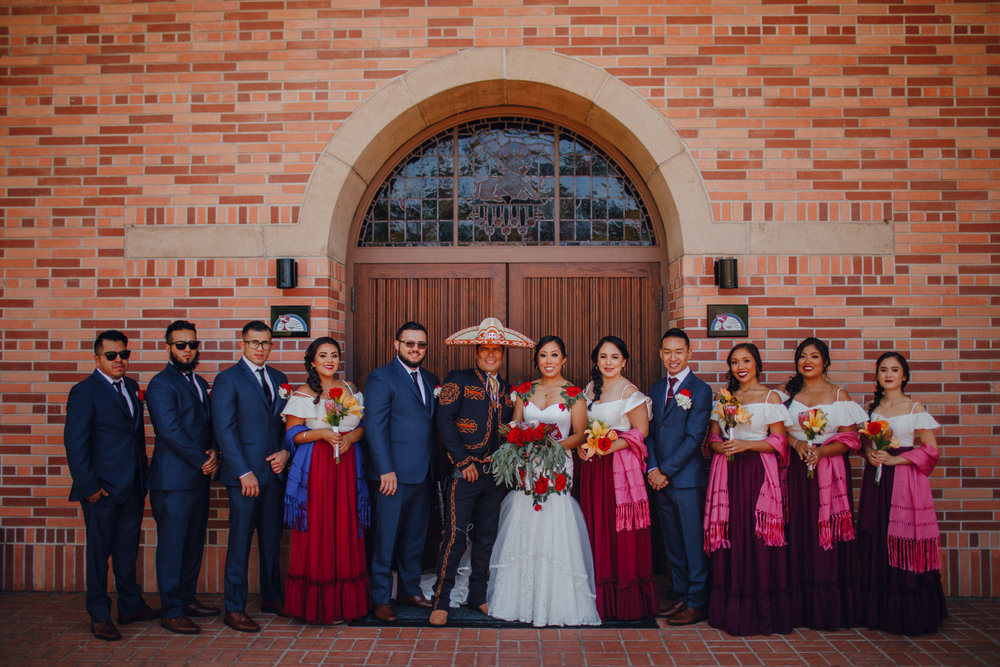San Diego Wedding Photographer | bridal party