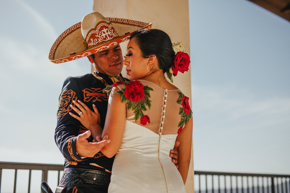 San Diego Wedding Photographer | post ceremony wedding portraits
