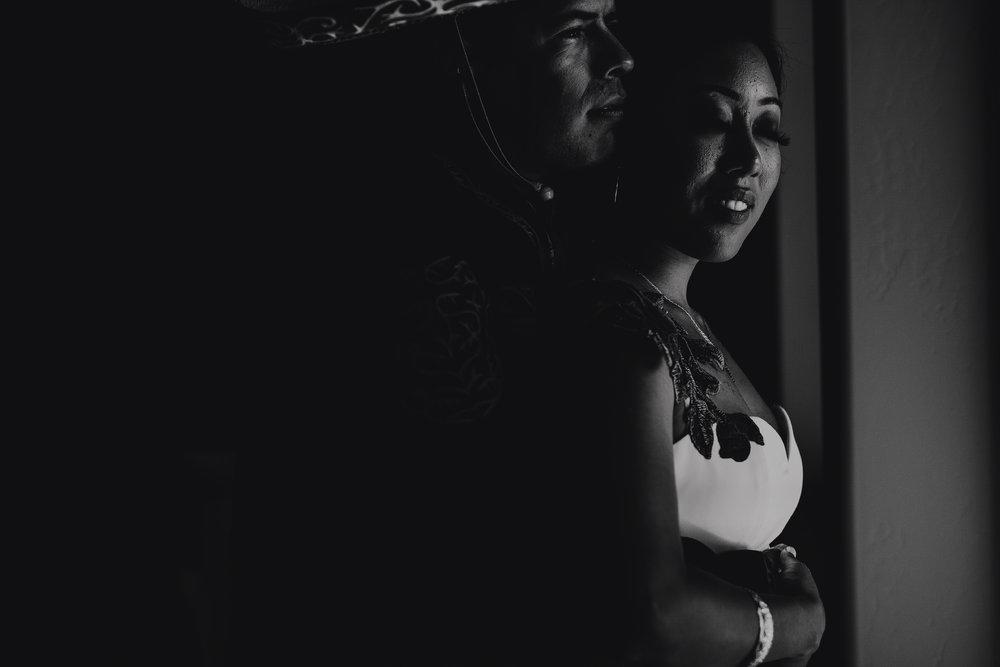 San Diego Wedding Photographer | dark and moody portraits