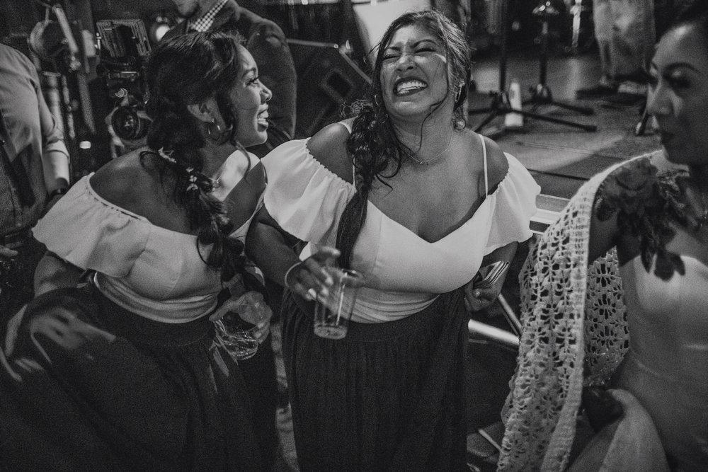 San Diego Wedding Photographer | bridesmaids during reception