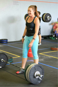 Erin Brekstad   - CrossFit Level 1  Erin is a reserve Olympian athlete, artist, angler, and chainsaw-juggler. When she isn't in training herself and others, she can be found on a mountain or in a stream.