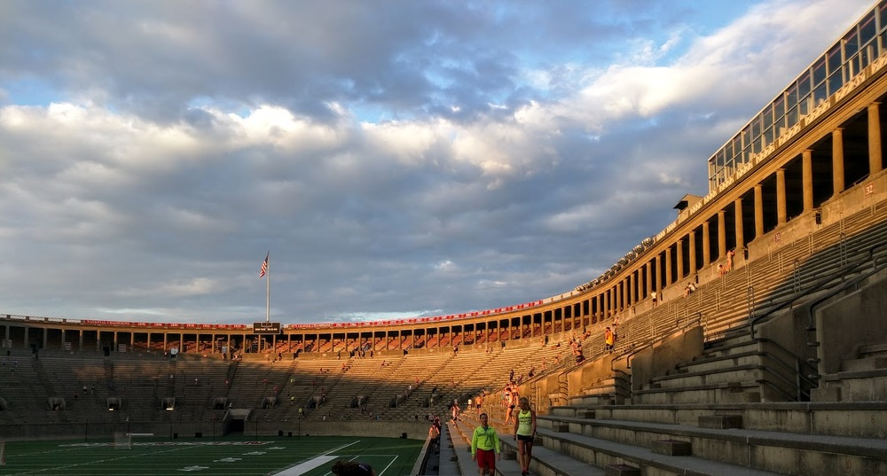 Harvard Stadium @ 6:30am
