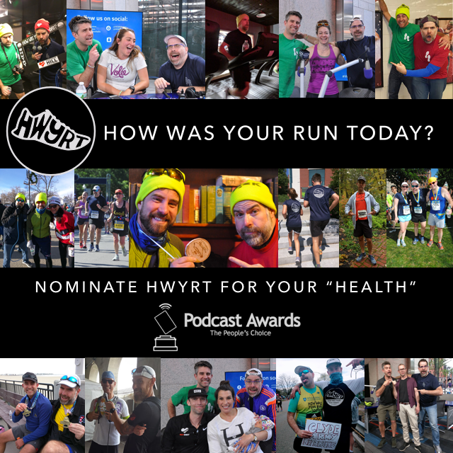Nominate How Was Your Run Today? for The People's Choice Podcast Awards!