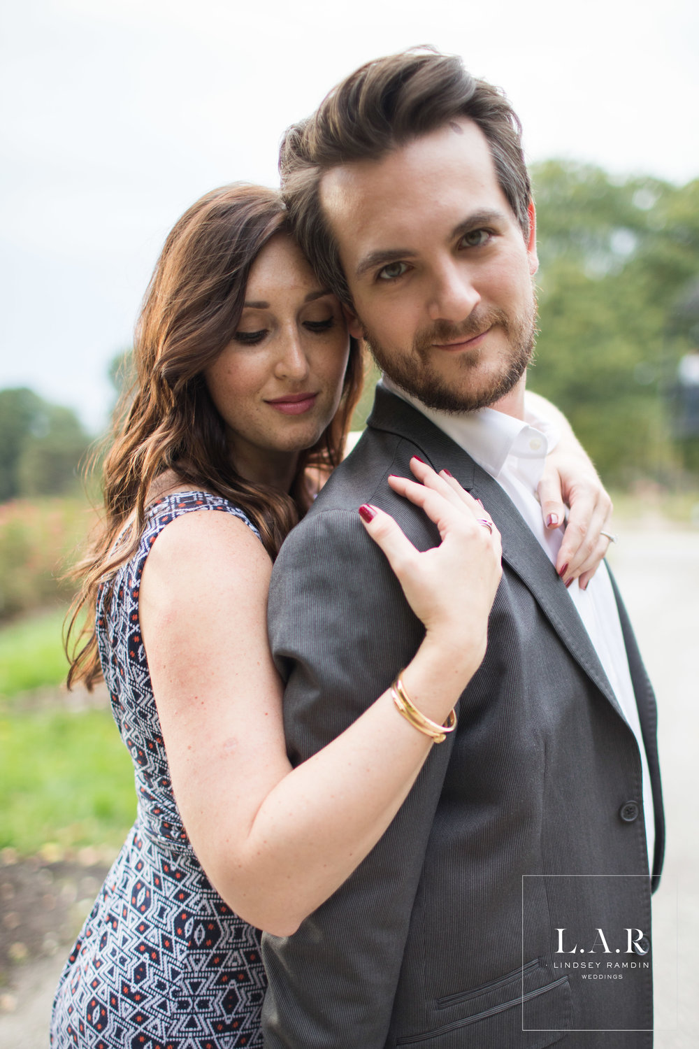 Columbus Park of Roses | Engagement Session