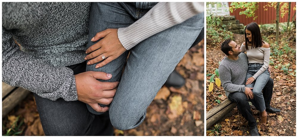 cuyahoga valley national park engagement session_LAR Weddings