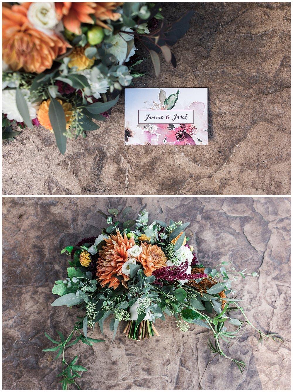 """Tara from  Fodor Tree Farm  nailed """"fall bouquet"""""""