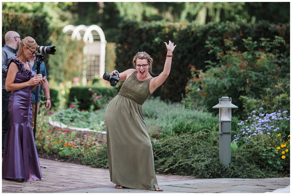 And that one time I spotted her in the wild (aka The Rose Gardens on a Saturday).