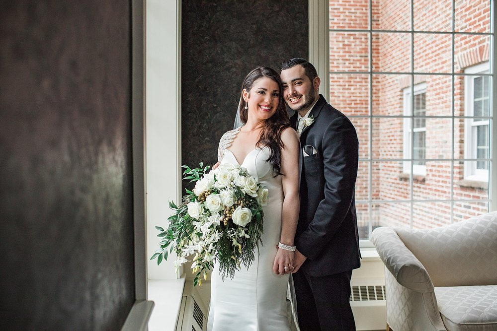 Winter Wedding at Avalon Inn and the Lake Club of Ohio