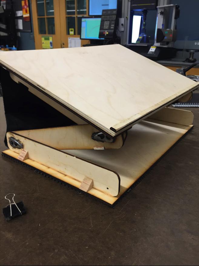 wood lap table lap desk sean howe