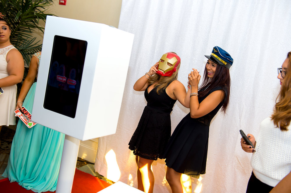 Best Photobooths for Sweet 16s - Blanc Noir Event Group