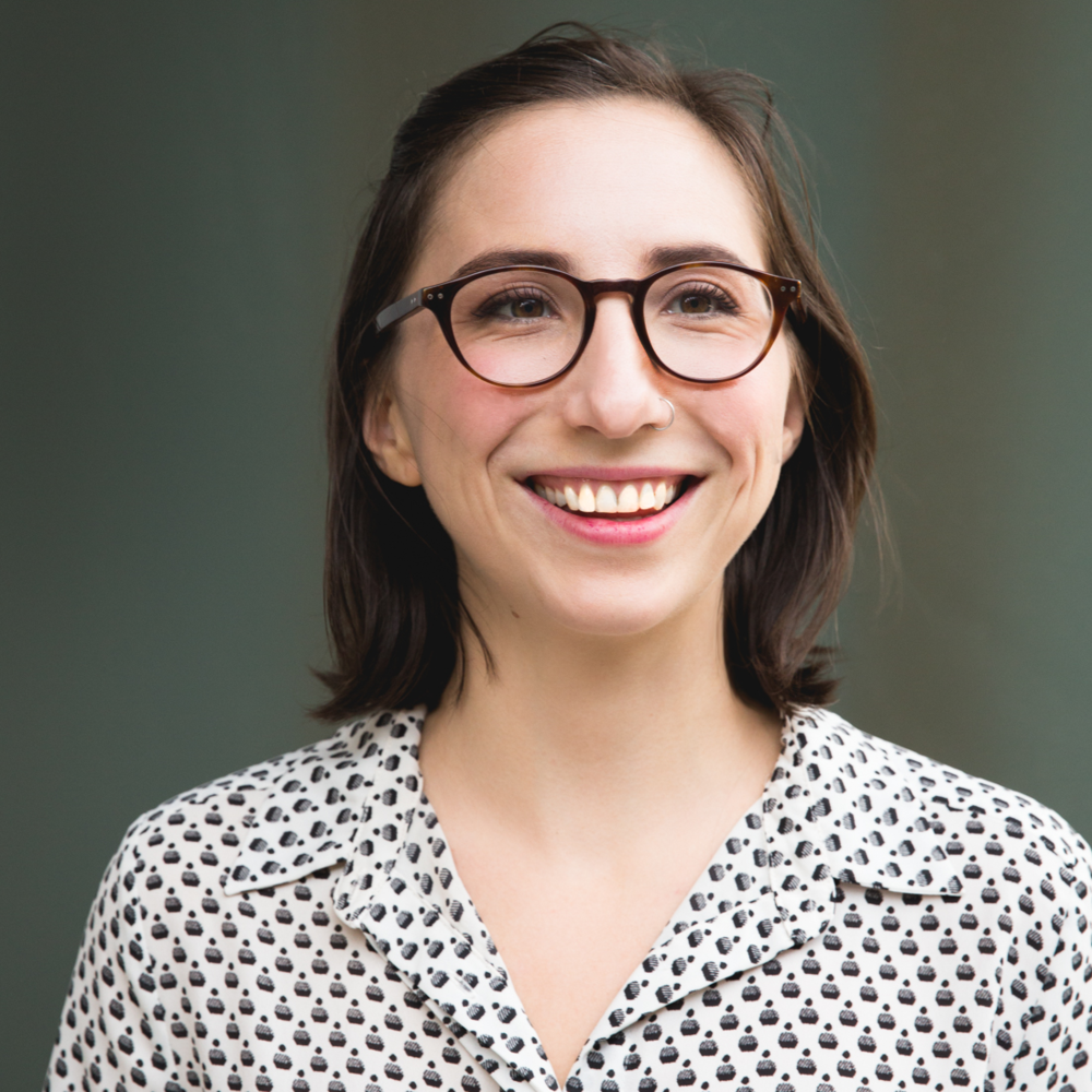 Chloe Steinhoff-Smithis a passionate and thoughtful designer who is particularly gifted in finding straightforward solutions to complex problems.She loves karaoke and feels personally connected to small, exotic animals.