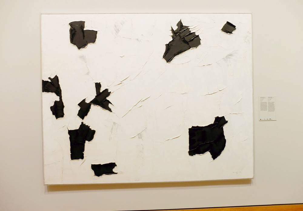 Paul-Émile Borduas,  3+4+1 , 1956, oil on canvas, 199.8 x 250 cm, National Gallery of Canada, Ottawa