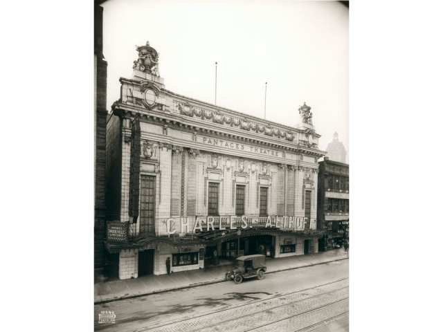 The second Pantages, at 20 West Hastings. Courtesy City Vancouver Archives.