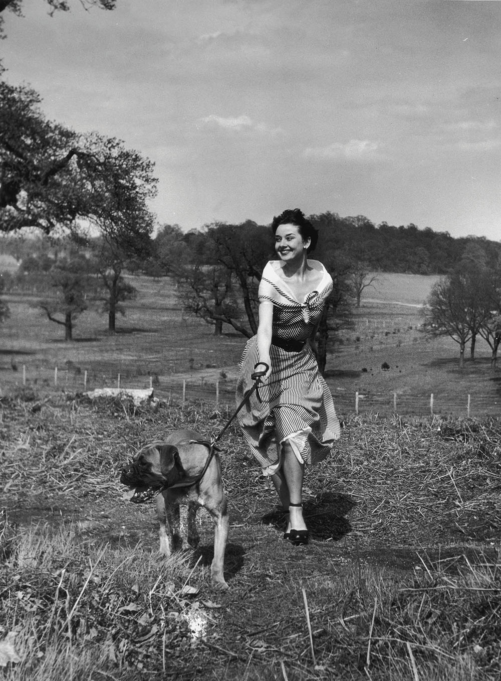 Audrey Hepburn in Richmond Park by Bert Hardy