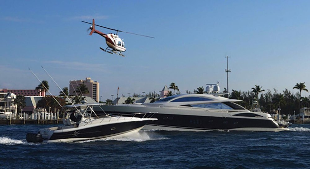The Sunseeker Predator 108 in Casino Royale