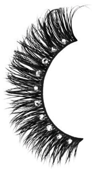- No need to look to the sky to see the stars with these sparkling eyelashes, perfect for fancy evenings out.