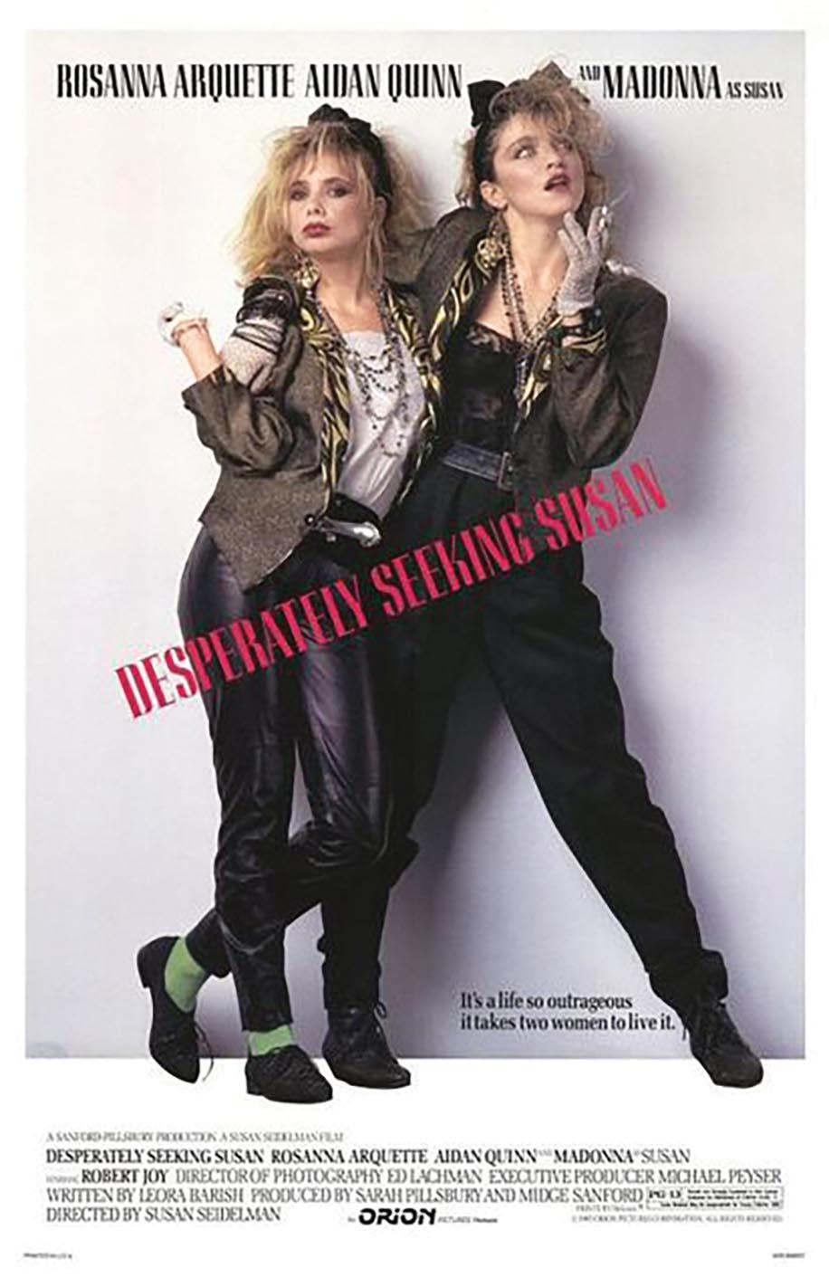 Desperately Seeking Susan (1985) poster