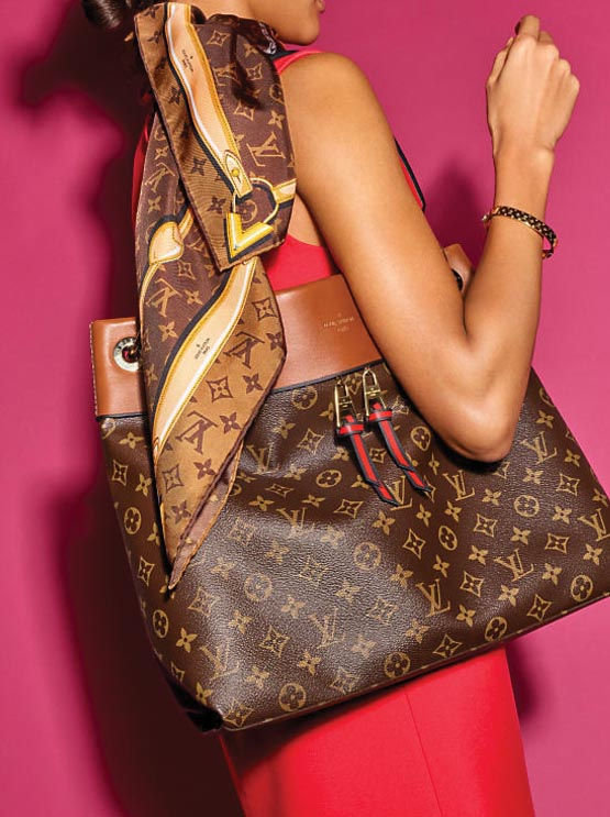 A bag from the Louis Vuitton Monogram Colors collection