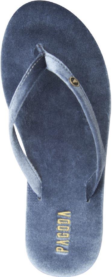 new product ff35e fbed6 Burma Blue flip-flops, Pagoda