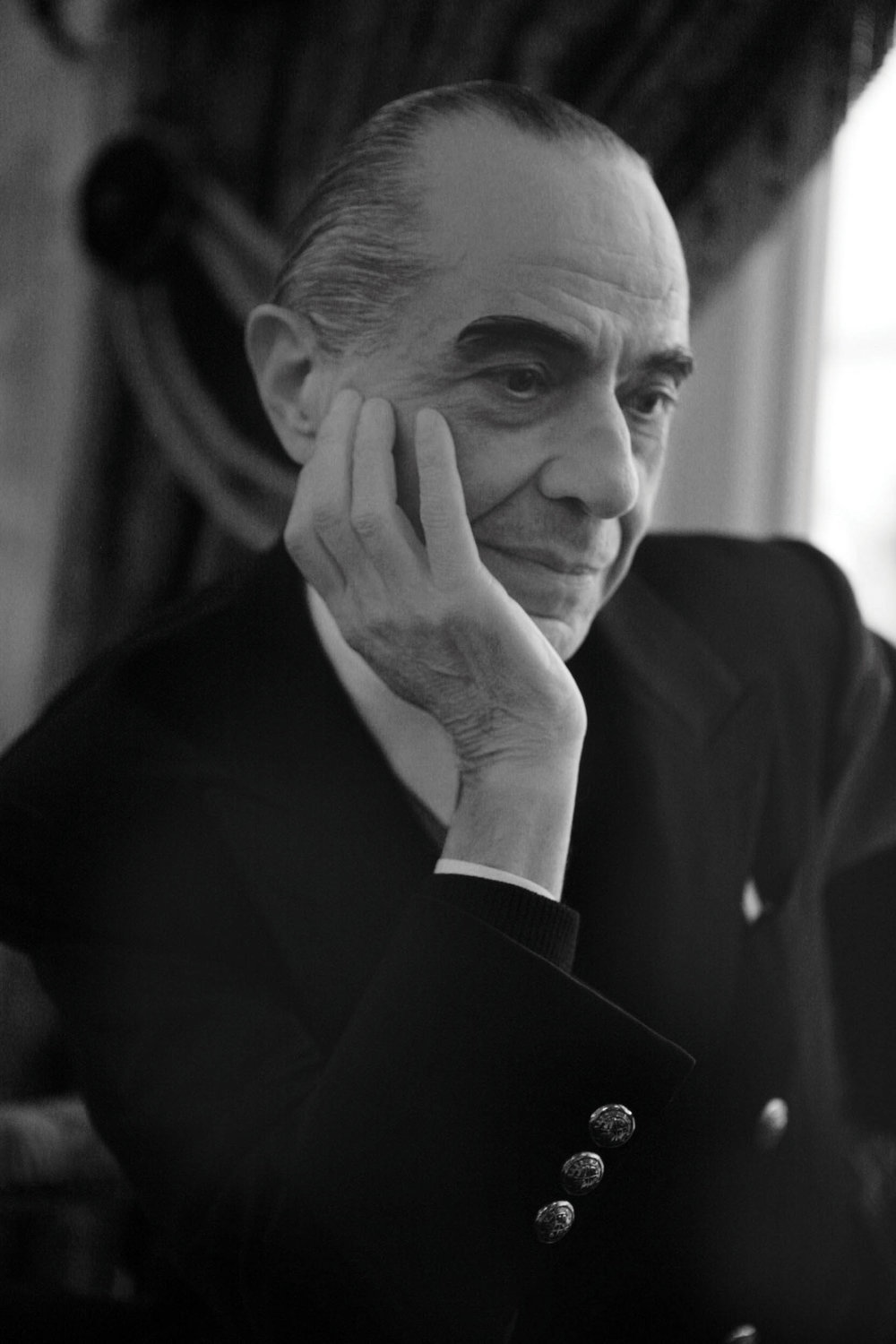 Serge Lutens at Ritz hotel in Paris 1 B&W - crédits photo Francesco Brigida copy.jpg