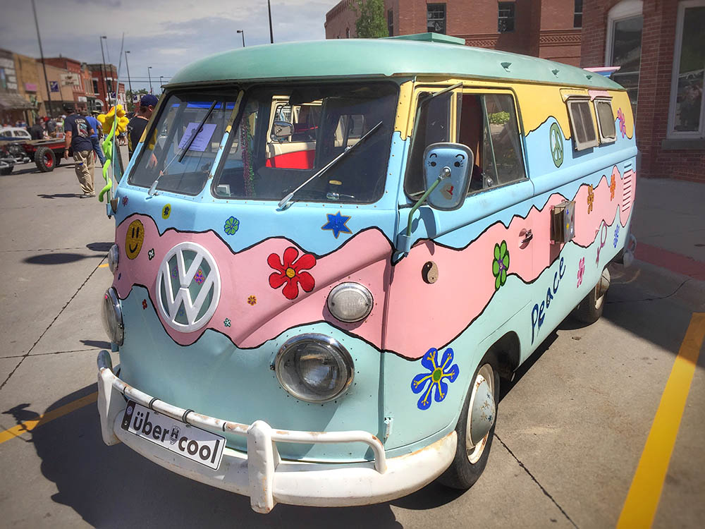 Volkswagen Microbus - Hippie style