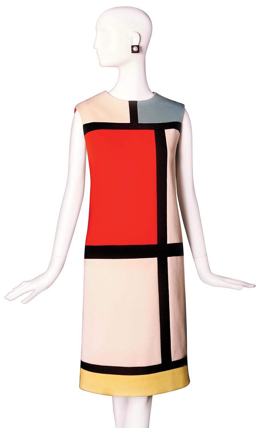 Haute couture dress from the Mondrian collection (autumn/winter 1965)
