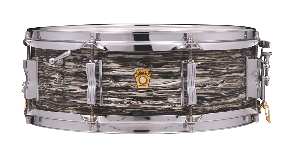 Ludwig Jazz Festival Oyster Black Pearl snare, 1965
