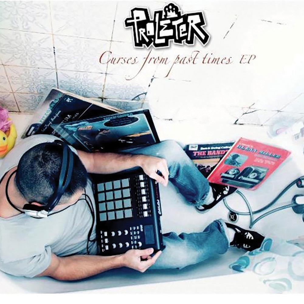 """Proleter     Curses from Past Times EP    The charmingly quirky opener """"April Showers"""" may sound at first like a vintage 1920s recording, but it's actually the creation of French indie producer Proleter (aka Benjamin Roca), who mixes old-style jazz with hip-hop beats."""