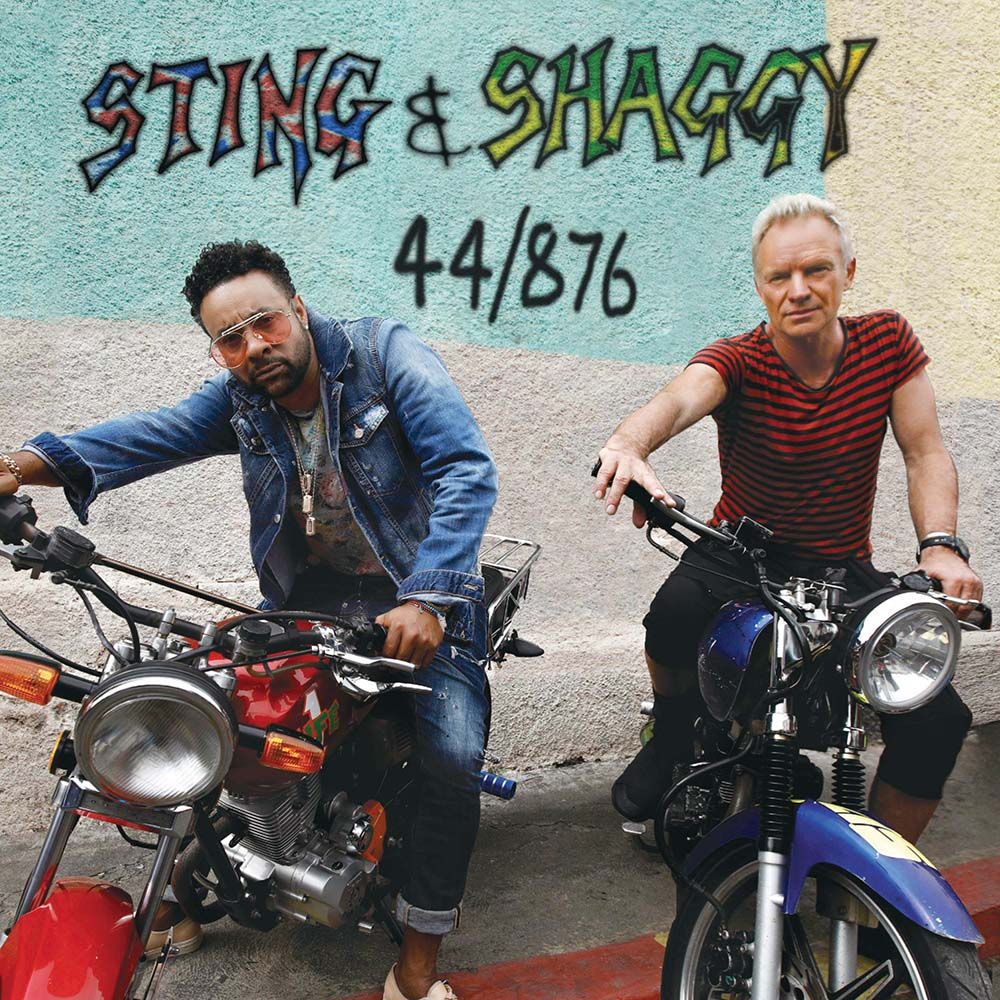 Sting & Shaggy     44/876    There was always a strong reggae influence in The Police's music, so Sting is in familiar territory for this good-natured collaboration with Jamaican singer Shaggy. The album title comes from the telephone dialling codes for their two countries.
