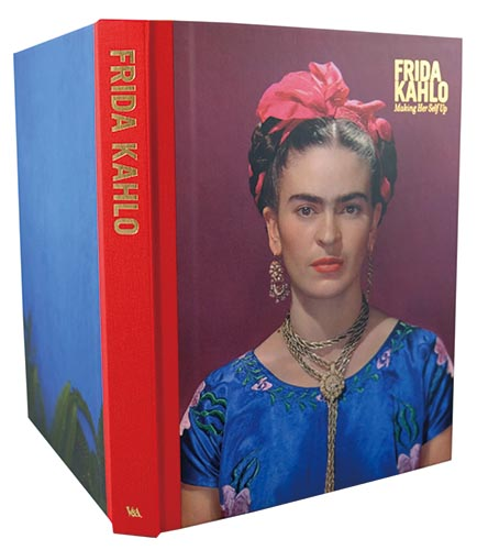 V&A exhibition book for  Frida Kahlo: Making Her Self Up