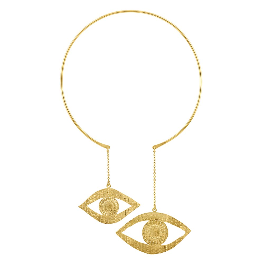 Double-eye necklace, Sophie Simon