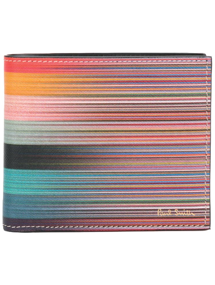 Striped wallet, Paul Smith