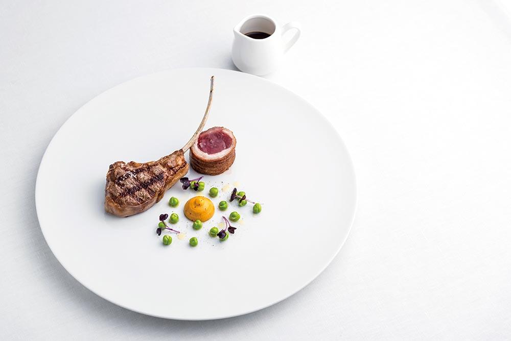 New Zealand lamb features on the Aragu menu
