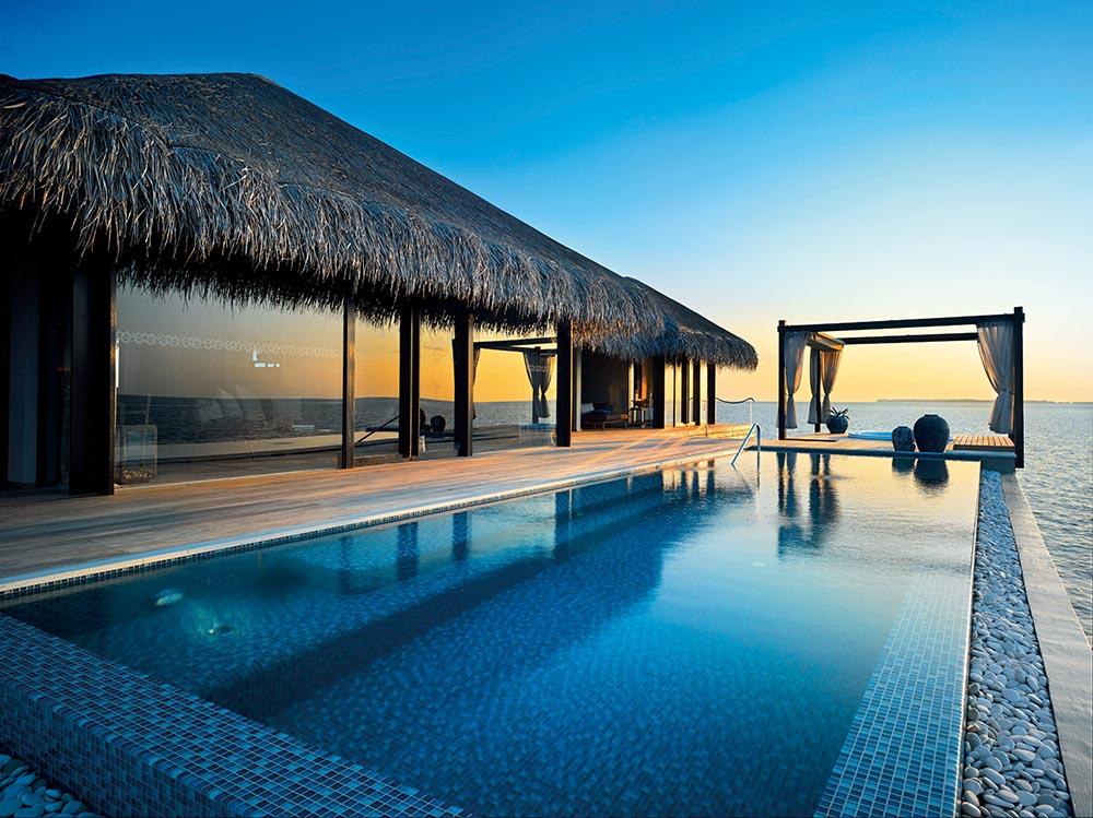 The Ocean Pool House at Velaa