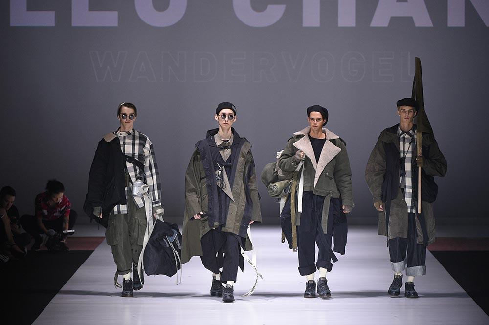 """Designer: Leo Chan. Design: """"Wandervögel"""" / Champion"""