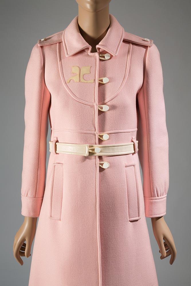 Courrèges, coat, 1967, France, gift of Mrs Phillip Schwartz