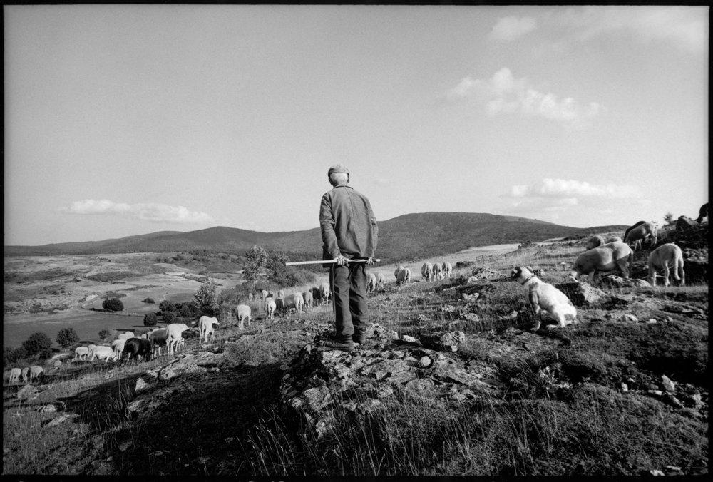 Marcel Privat, Le Villaret, Lozère, 2000