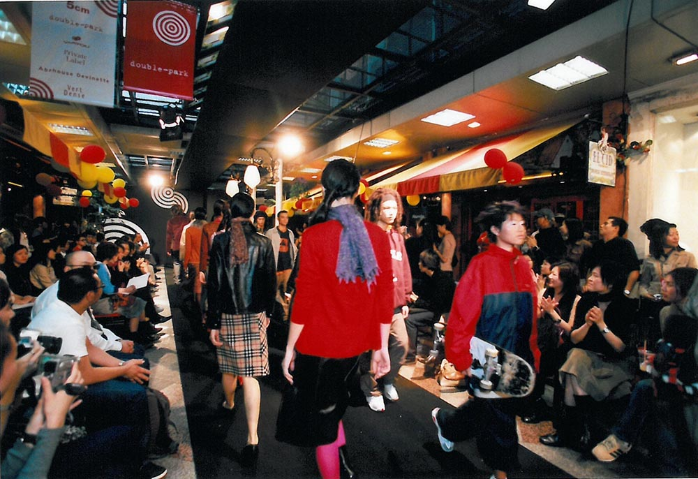 2000: Paterson Street Opening Fashion Show