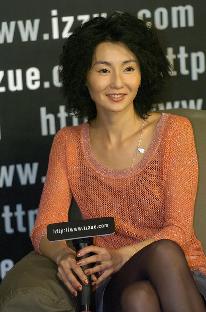 2002: Maggie Cheung as izzue brand image director