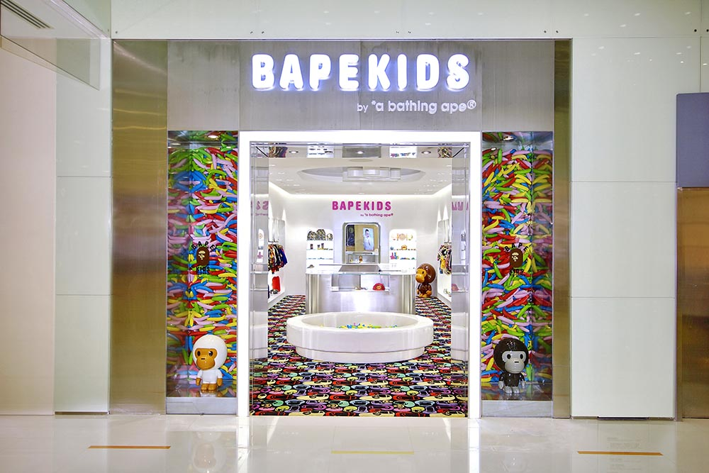 2012: First BAPE KIDS Store Opening