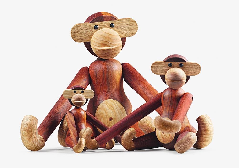 Monkeys (1951), Kay Bojesen