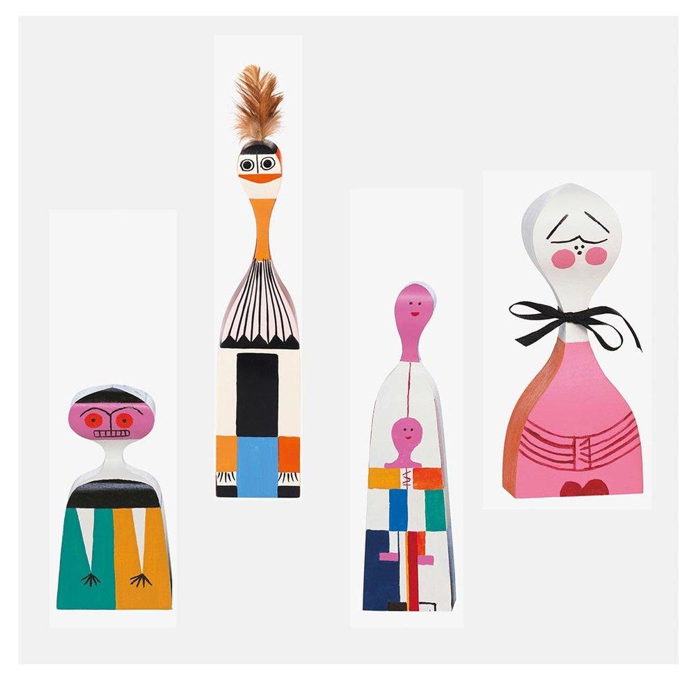 Wooden Dolls (1963), Alexander Girard, Vitra