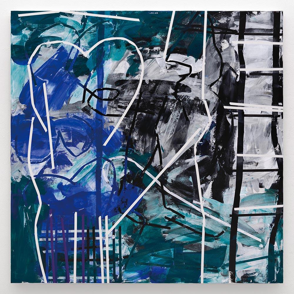 Heimo Zobernig,  Untitled , 2018, 200cm x 200cm