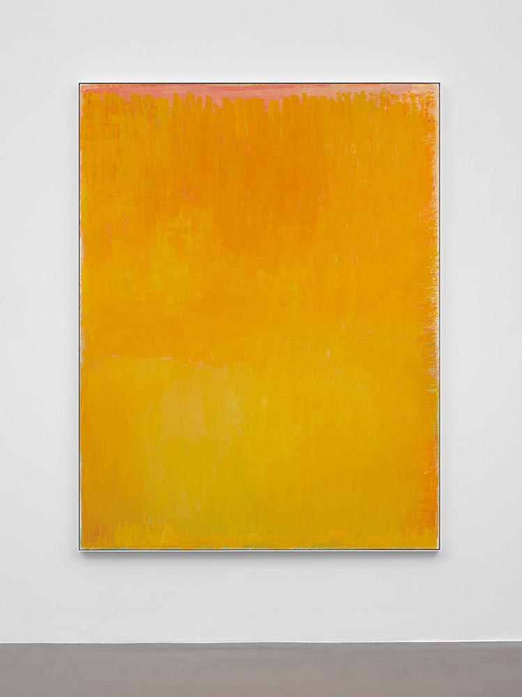 Christopher Le Brun,  The Madness of Tristram , 2018, oil on canvas, 220.5cm x 170cm