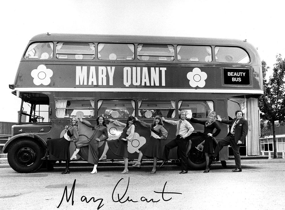 The Mary Quant Beauty Bus, 1971