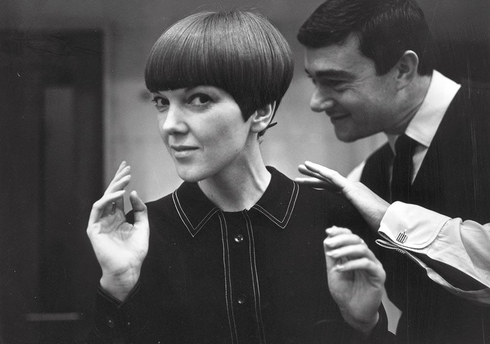 Quant with Vidal Sassoon, by Ronald Dumont, 1964