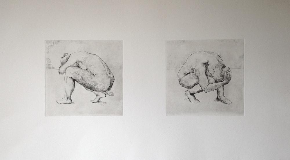 "8x16"", Etching, 2014"