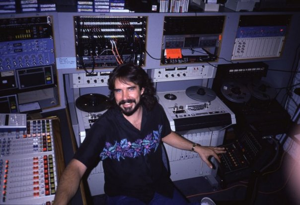 Big boy studios at Y-95 Dallas, 1988.
