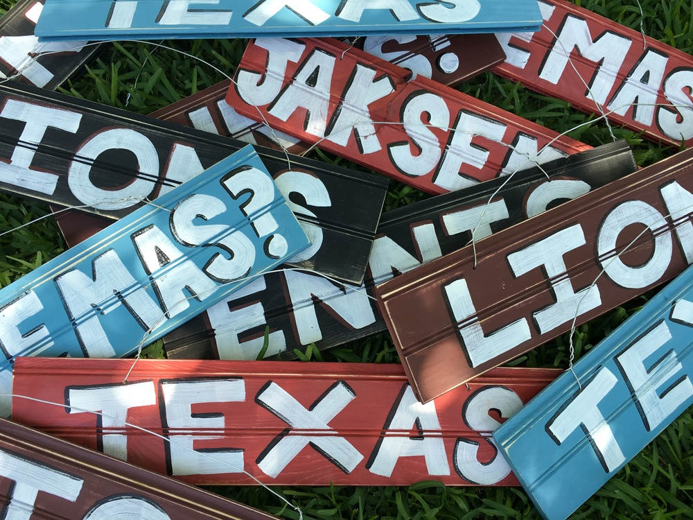 Assorted Wood Signs