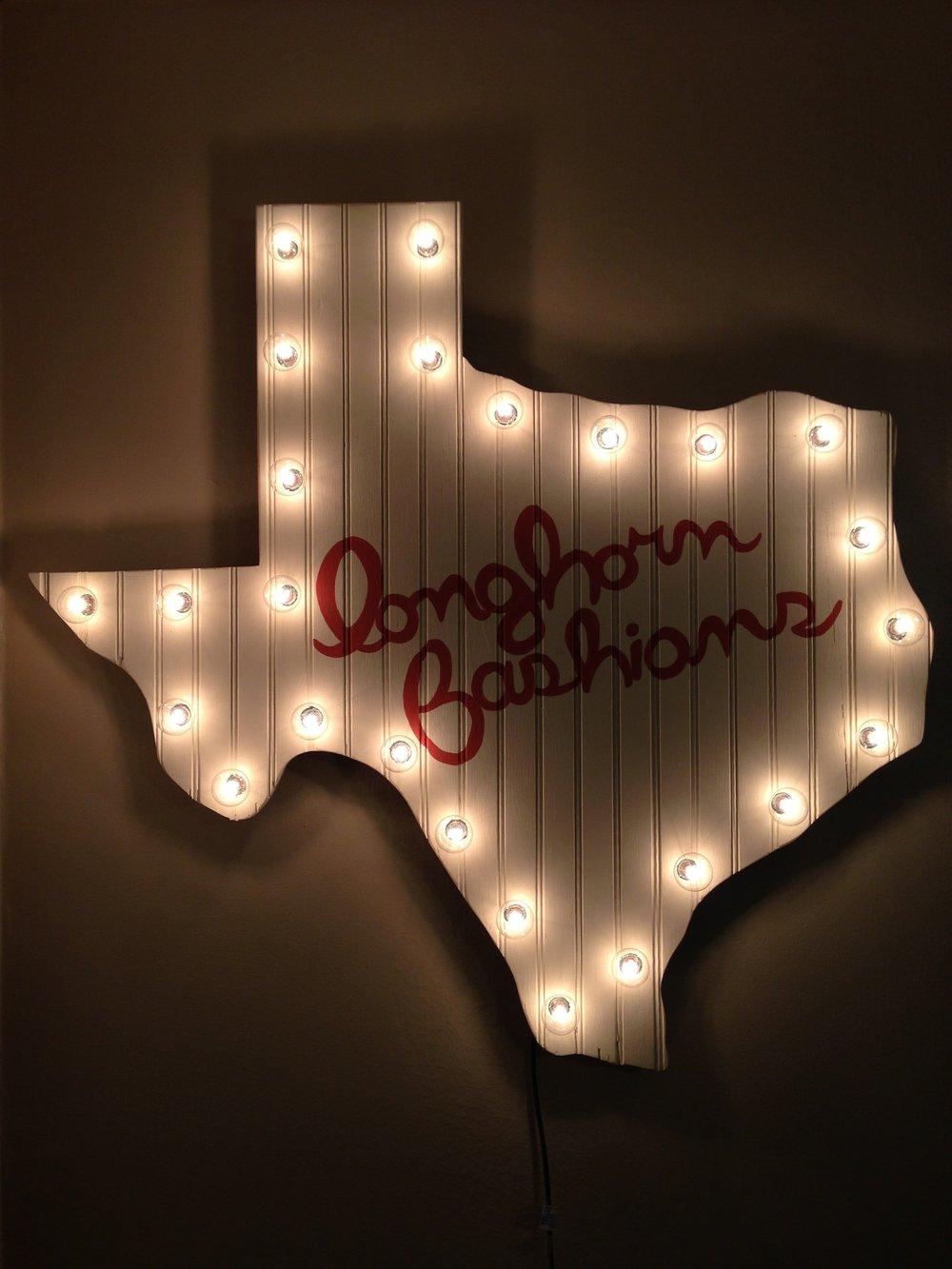 Longhorn Fashions Texas
